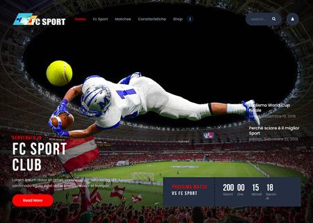 Fc Sport Template